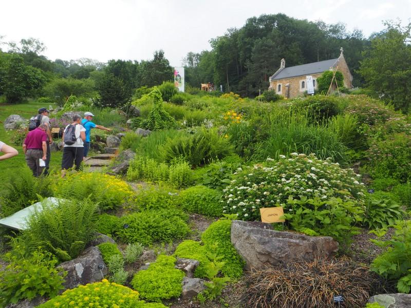 Visite jardin botanique de Nancy